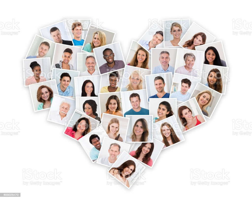 Group Of Multiethnic People stock photo