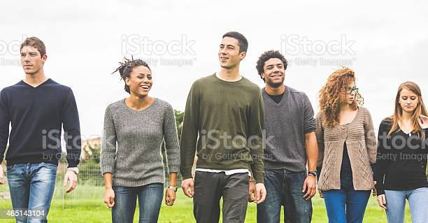Group of multiethnic people walking together in a field picture id465143104?b=1&k=6&m=465143104&s=612x612&h=nmg9 ieod8gdnw3u59hrcgiieuaaoribufuwvcznc9e=