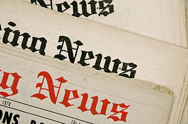 Group of newspapers with old yellow pages The mastheads for 40 year old newspapers. The words News in black and red. [url=file_closeup.php?id=19566389][img]file_thumbview_approve.php?size=1&id=19566389[/img][/url] [url=file_closeup.php?id=19566383][img]file_thumbview_approve.php?size=1&id=19566383[/img][/url] [url=file_closeup.php?id=18592353][img]file_thumbview_approve.php?size=1&id=18592353[/img][/url] [url=file_closeup.php?id=18592328][img]file_thumbview_approve.php?size=1&id=18592328[/img][/url] [url=file_closeup.php?id=18557766][img]file_thumbview_approve.php?size=1&id=18557766[/img][/url] [url=file_closeup.php?id=18522646][img]file_thumbview_approve.php?size=1&id=18522646[/img][/url] [url=file_closeup.php?id=16549250][img]file_thumbview_approve.php?size=1&id=16549250[/img][/url] [url=file_closeup.php?id=16422976][img]file_thumbview_approve.php?size=1&id=16422976[/img][/url] [url=file_closeup.php?id=16307643][img]file_thumbview_approve.php?size=1&id=16307643[/img][/url] [url=file_closeup.php?id=16220479][img]file_thumbview_approve.php?size=1&id=16220479[/img][/url] [url=file_closeup.php?id=16148757][img]file_thumbview_approve.php?size=1&id=16148757[/img][/url] [url=file_closeup.php?id=16130009][img]file_thumbview_approve.php?size=1&id=16130009[/img][/url] [url=file_closeup.php?id=15957668][img]file_thumbview_approve.php?size=1&id=15957668[/img][/url] [url=file_closeup.php?id=14297532][img]file_thumbview_approve.php?size=1&id=14297532[/img][/url] [url=file_closeup.php?id=14308633][img]file_thumbview_approve.php?size=1&id=14308633[/img][/url] [url=file_closeup.php?id=14174112][img]file_thumbview_approve.php?size=1&id=14174112[/img][/url] [url=file_closeup.php?id=10021838][img]file_thumbview_approve.php?size=1&id=10021838[/img][/url] [url=file_closeup.php?id=7976831][img]file_thumbview_approve.php?size=1&id=7976831[/img][/url] [url=file_closeup.php?id=7976816][img]file_thumbview_approve.php?size=1&id=7976816[/img][/url] front page stock pictures, royalty-free phot