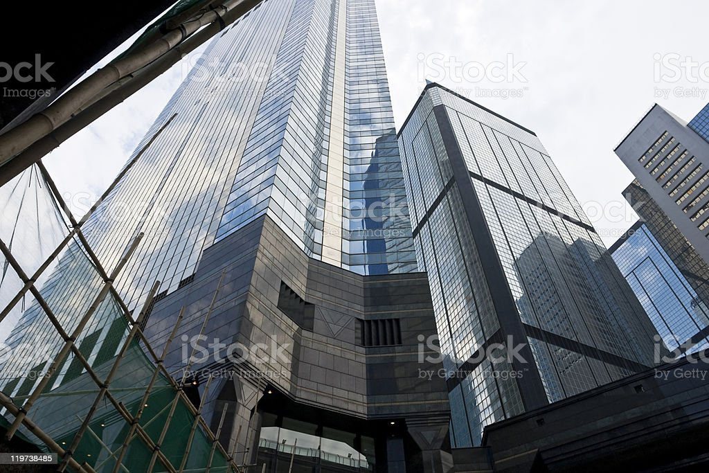 Group of office buildings royalty-free stock photo