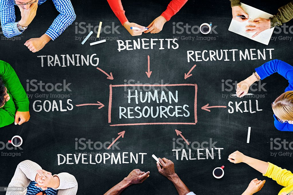 Group of People and Human Resources Concept stock photo