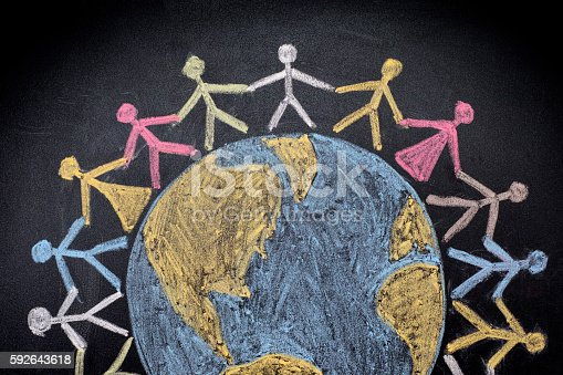 istock Group of people around the world 592643618