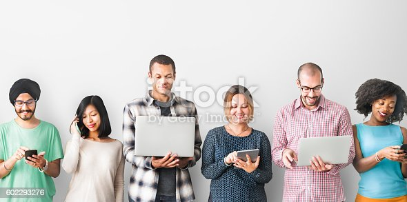 istock Group of People Connection Digital Device Concept 602293276