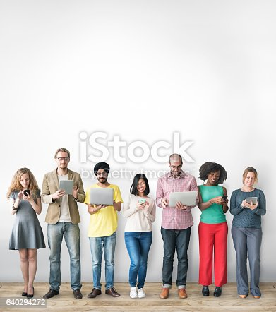 istock Group of People Connection Digital Device Concept 640294272