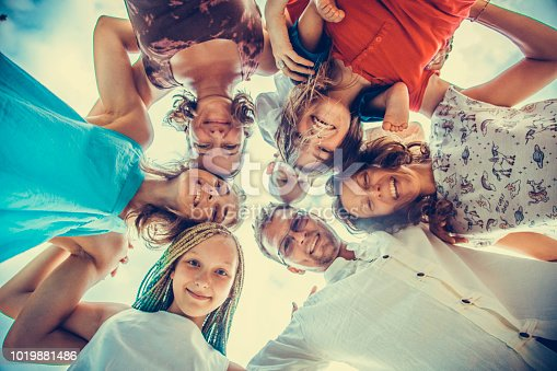 866758230istockphoto Group of people holding hands. Unity concept 1019881486
