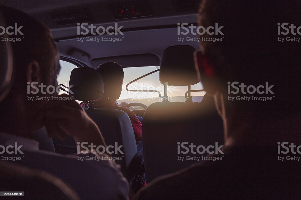 group of people is traveling  , exploring stock photo