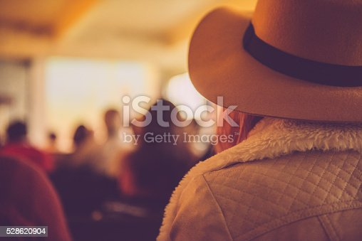 istock Group of People Listening to a Presentation, Paris, France 528620904