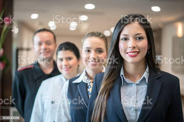 Group of people working at the hotel picture id509530036?b=1&k=6&m=509530036&s=612x612&h=22j3rfuvurjslg2hbii yi77fbihkyshm29anabehqo=