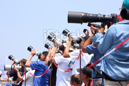 İzmir, Turkey - June 06, 2011: deployed during the air show as a group even though turkey photographers.