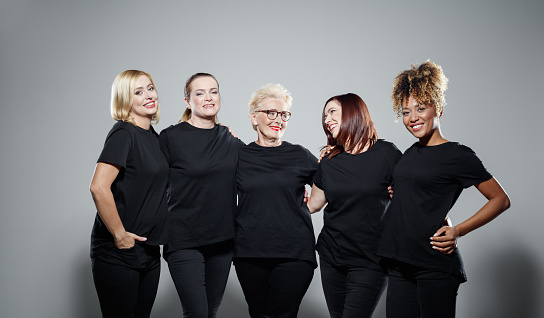Group Of Powerful Women Stock Photo - Download Image Now