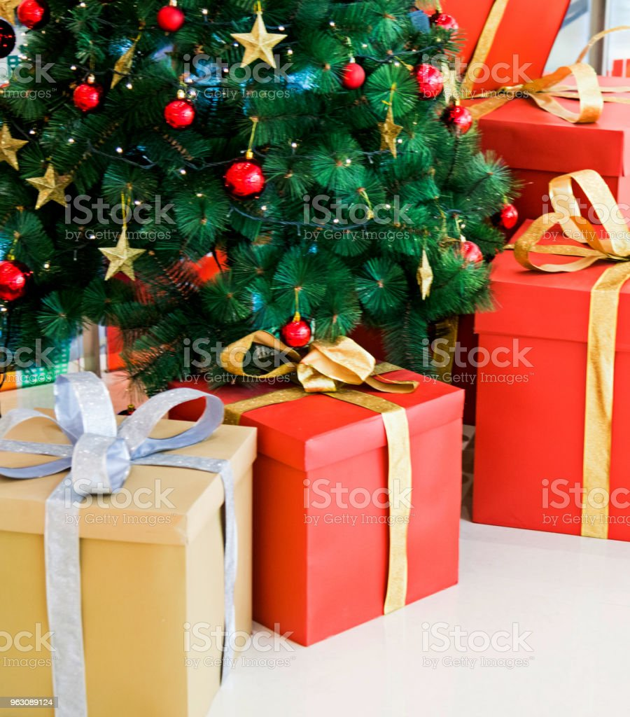 Group Of Presents Under Christmas Tree Stock Photo Download Image Now Istock