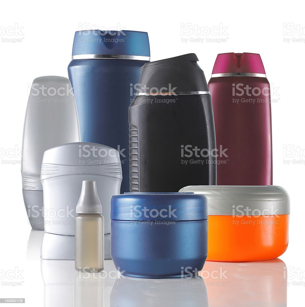 group of product packaging royalty-free stock photo