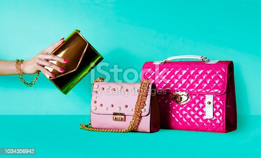 istock Group of purses Shopping image. 1034356942