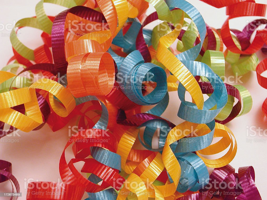 Group of ribbons 1 royalty-free stock photo