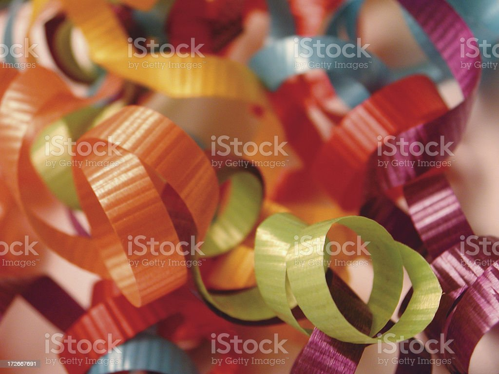 Group of ribbons 2 royalty-free stock photo
