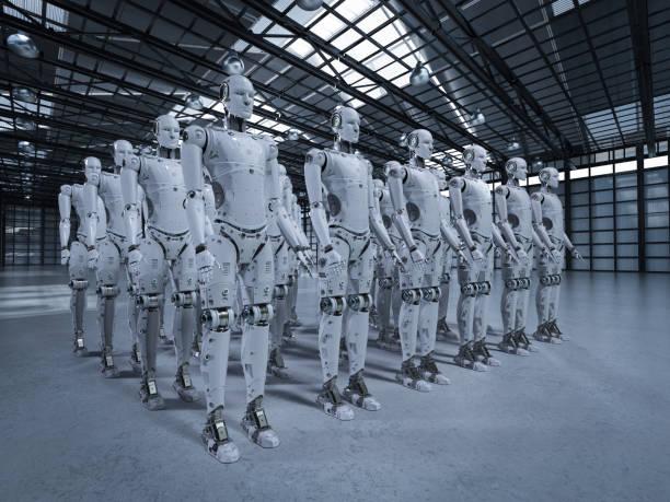 ロボットのグループ - 豊富 ストックフォトと画像