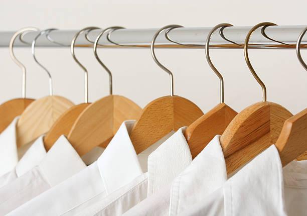 Group of shirts stock photo