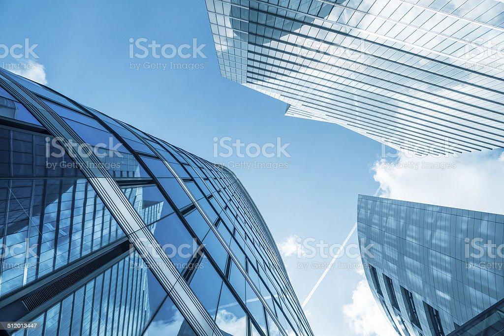 Gruppe von Wolkenkratzer in Brüssel, Belgien – Foto