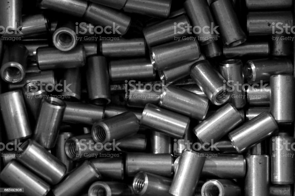 group of spare parts Lizenzfreies stock-foto