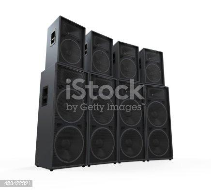 istock Group of Speakers 483422321