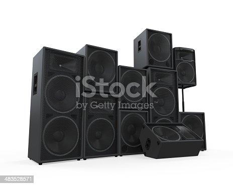 istock Group of Speakers 483528571