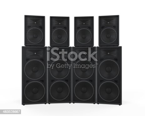istock Group of Speakers 483528667