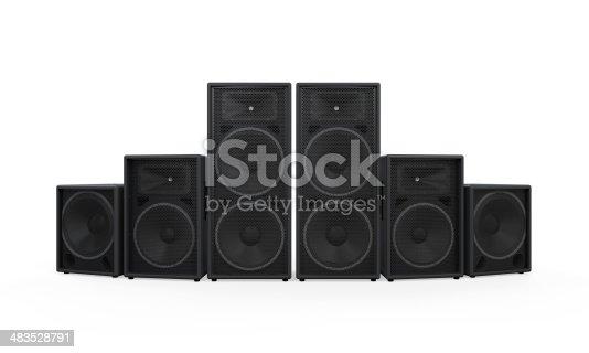 istock Group of Speakers 483528791