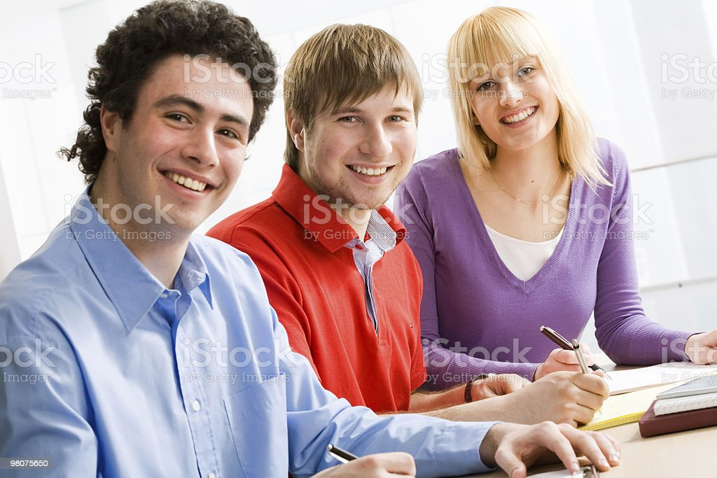 group of students royalty-free stock photo