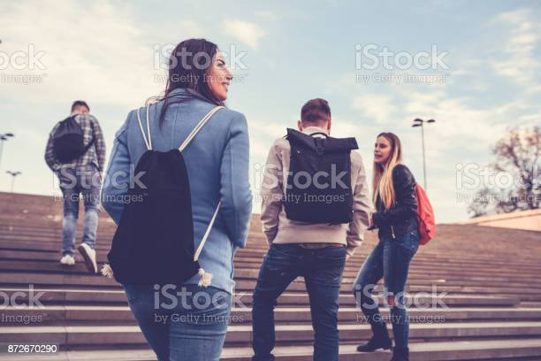 Group of students with backpacks walking to school picture id872670290?b=1&k=6&m=872670290&s=612x612&h=b bhiezkbvaq7nw5xplmrgqr73xohjdxswevvac6hhs=