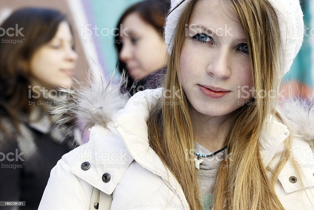 group of teenagers royalty-free stock photo