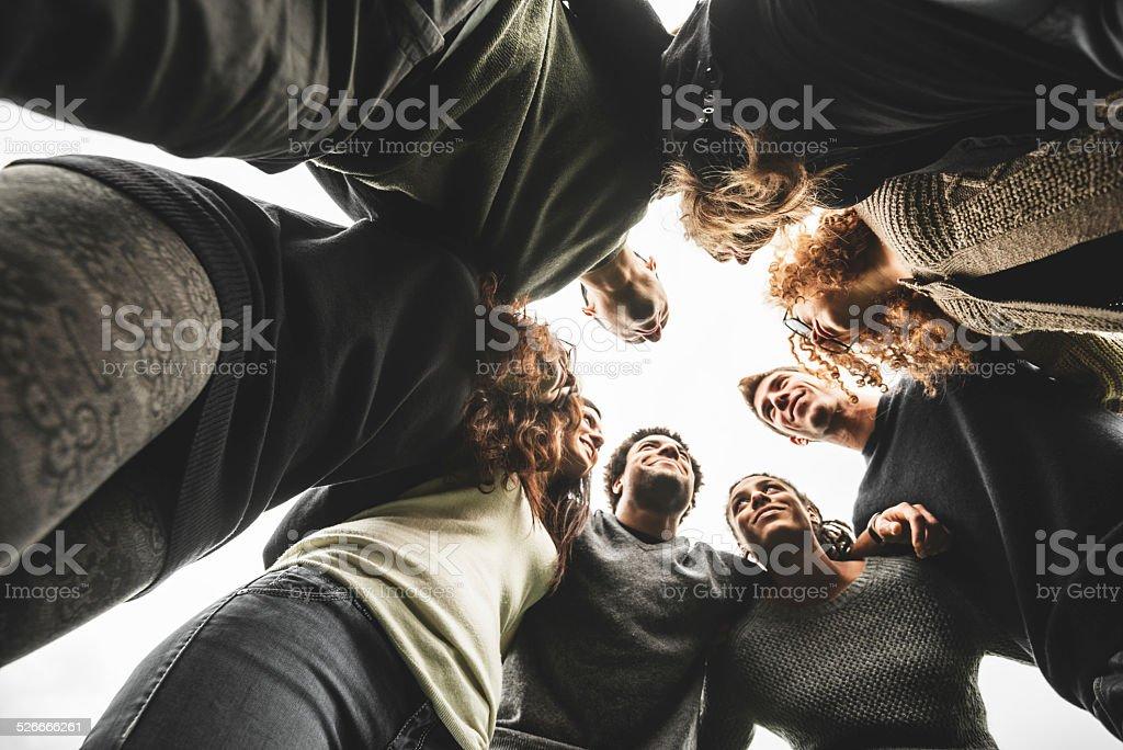 Grupo de Adolescentes voluntário - foto de acervo
