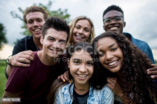 group shot teen ass