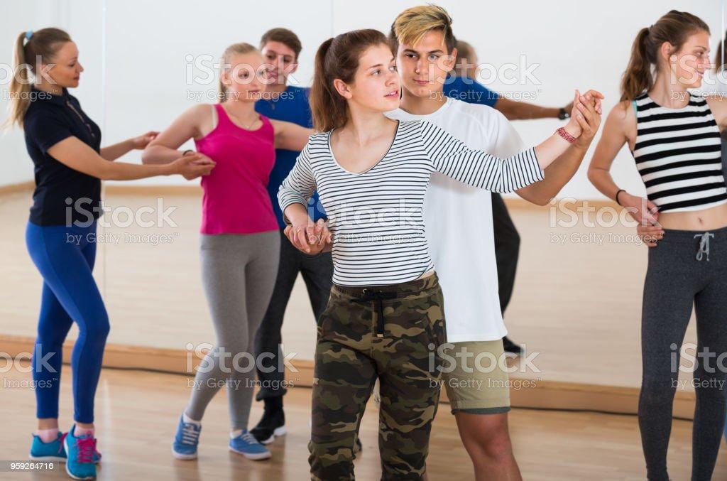 Teen Girls danser