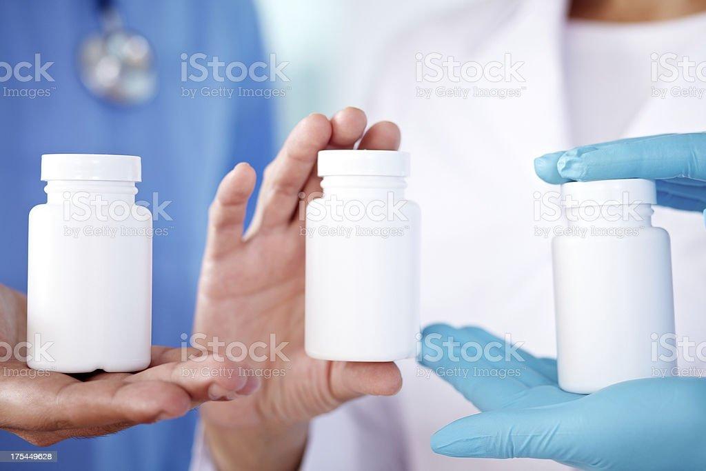 Group of vitamin pills royalty-free stock photo
