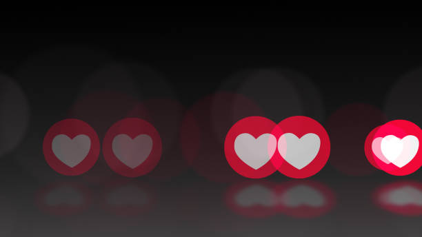 1 583 Black Heart Emoji Stock Photos Pictures Royalty Free Images Istock