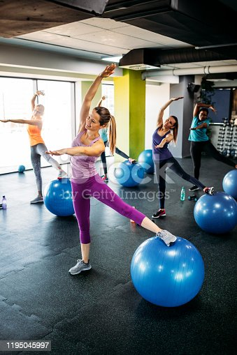1195045259istockphoto Group Of Women Exercising In The Gym 1195045997