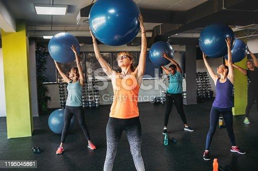 1195045259istockphoto Group Of Women Exercising 1195045861