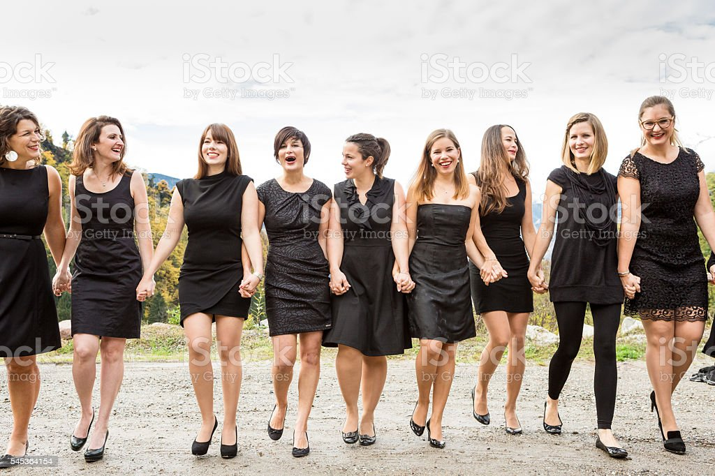 Group of People Not On Dresses
