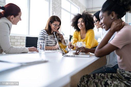 istock Group of women working 1138105774