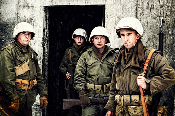 Group of WWII Winter Soldiers