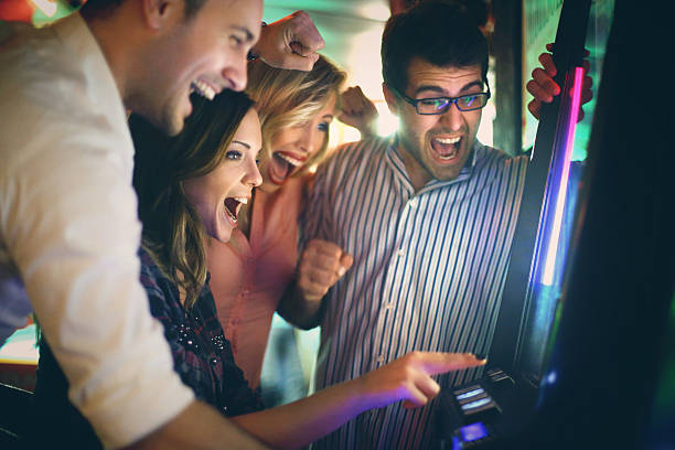 Group of young adults having fun in casino picture id483327608?b=1&k=6&m=483327608&s=612x612&w=0&h=2aoatbvyptqh4rmcdo0kyhjkl1nubs4do97h793 vhi=