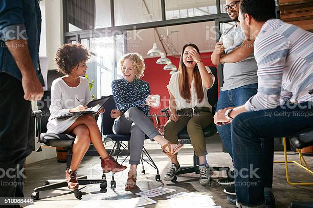 Group of young business professionals having a meeting picture id510066446?b=1&k=6&m=510066446&s=612x612&h=uxlp4y2wj7cwttrndx6znvv97zfs8pahuxdap fgvcg=