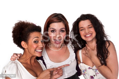 700702502istockphoto Group of young female co-workers 184342962