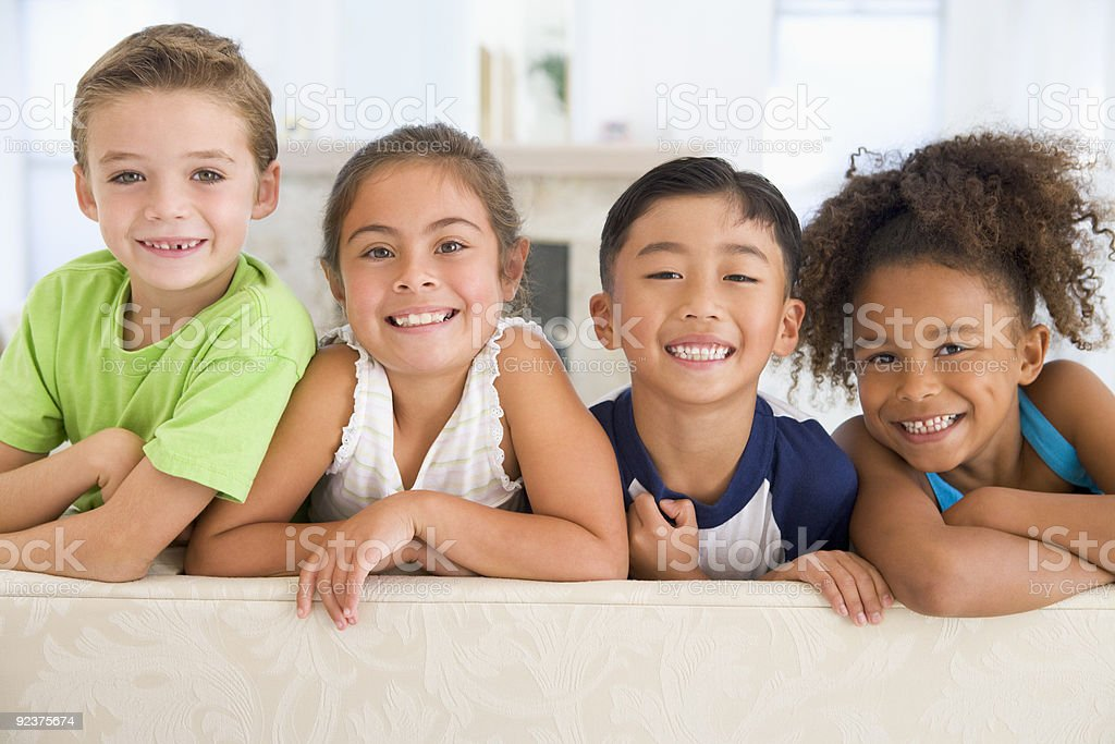Group Of Young Friends royalty-free stock photo