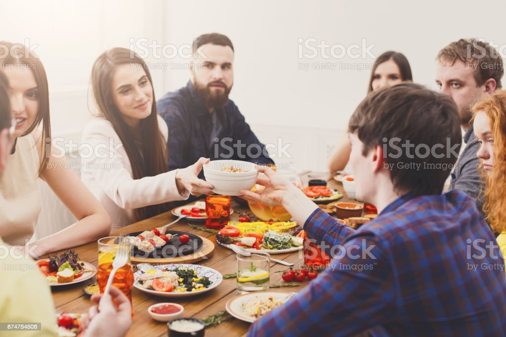 adult dinner party