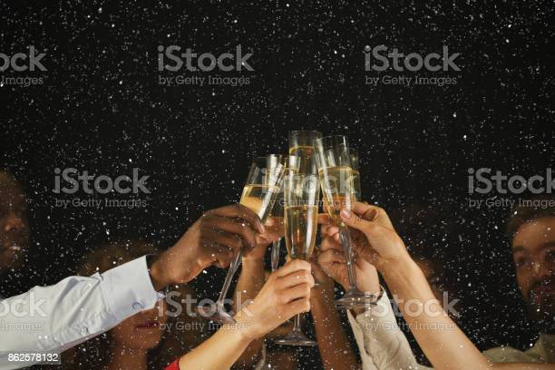 Group of young people celebrating new year with champagne at night picture id862578132?b=1&k=6&m=862578132&s=612x612&h=qj2udf7y0lqkukm1konp w8xte1k6iq95whhguejapu=