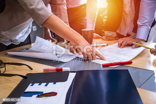 istock A group of young people in a business meeting. 866548248