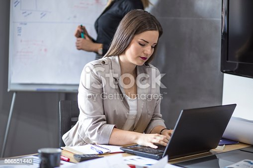istock A group of young people in a business meeting. 866551440