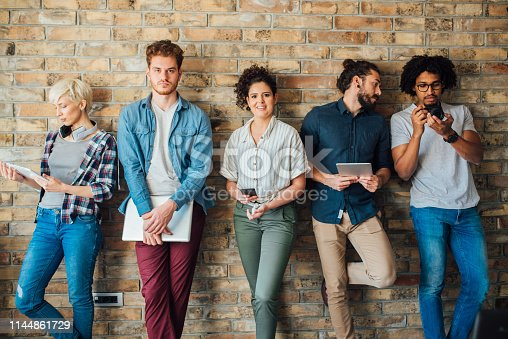istock Group of young people 1144861729