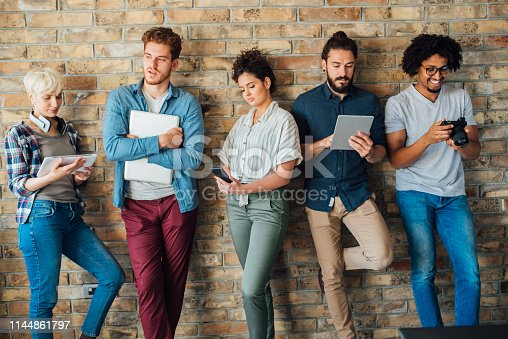 istock Group of young people together 1144861797